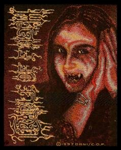 Cradle of Filth Sew On Patch Inferno Dani