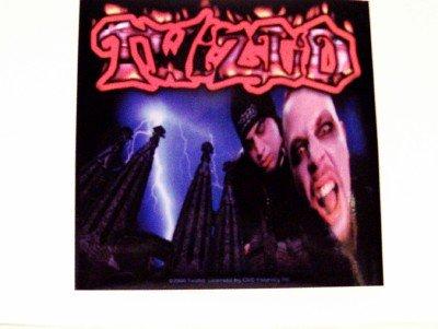 Twistid Vinyl Sticker Freek Show Logo