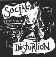 Social Distortion Vinyl Sticker Pretty Picture
