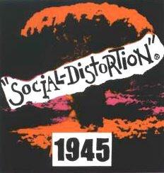 Social Distortion Vinyl Sticker 1945 Logo
