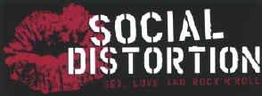 Social Distortion Vinyl Sticker Lips Logo