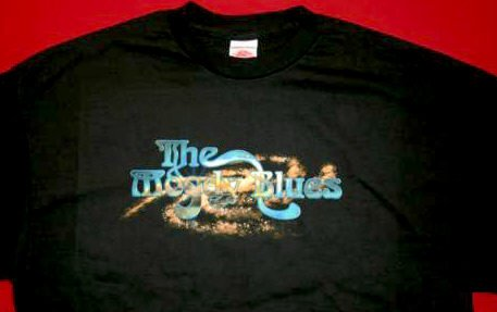 Moody Blues T-Shirt Cosmos Logo Black Size XL