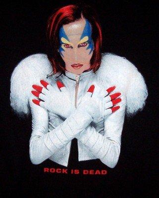 Marilyn Manson T-Shirt Rock is Dead Black Size XL