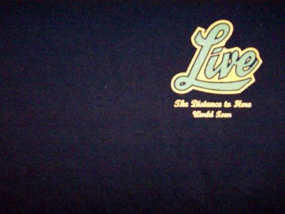 Live T-Shirt Local Crew Black Size XL