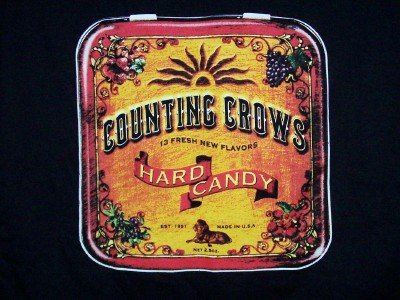 Counting Crows T-Shirt Hard Candy Black Size XL