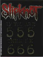 Slipknot Vinyl Sticker If you are 555 then I'm 666