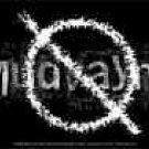 Mudvayne Vinyl Sticker Null Letters Logo