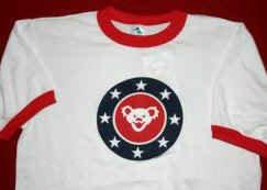 Grateful Dead Ringer T-Shirt Stars Bear Size Medium