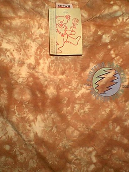 Grateful Dead T-Shirt Forever Tapin Tie-Dye Size Small
