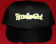 Cypress Hill Mesh Trucker Hat Smokeout Black One Size Fits All