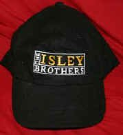 The Isley Brothers Hat Black One Size Fits All