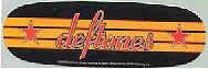 Deftones Vinyl Sticker Stars Oval Logo