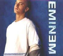 Eminem Vinyl Sticker Blue Photo Logo