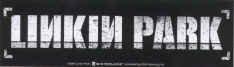 Linkin Park Vinyl Sticker Rectangle Letters Logo