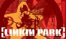 Linkin Park Vinyl Sticker Collage Letters Logo