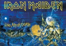 Iron Maiden Poster Flag Live After Death Tapestry