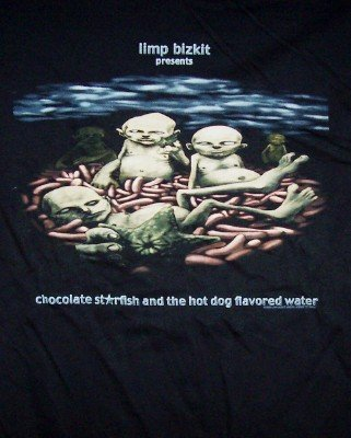 Limp Bizkit T-Shirt Starfish Tour Black Size XL