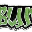 Sublime Iron-On Patch Green Graffiti Logo