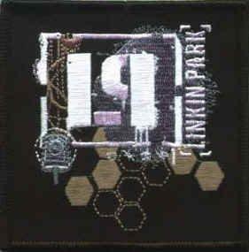 Linkin Park Iron-On Patch Honeycomb Logo