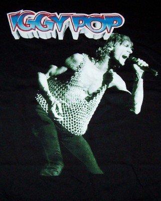 Iggy Pop T-Shirt Raw Power Black Size XL