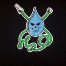 H2O T-Shirt Hose Logo Black Size Large