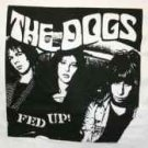 The Dogs T-Shirt Fed Up White Size Large