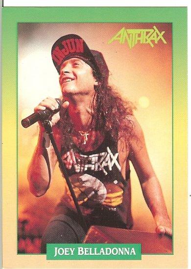 Anthrax Joey Belladonna Trading Card - Brockum RockCards