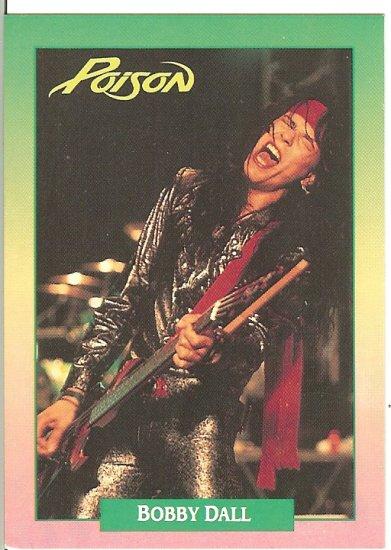 Poison Bobby Dall Trading Card - Brockum RockCards