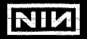 Nine Inch Nails Vinyl Sticker Punchcard Logo