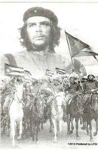 Che Guevara Vinyl Sticker Horses
