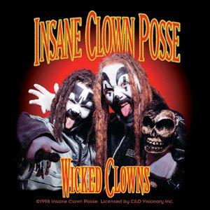 Insane Clown Posse Vinyl Sticker Wicked Clowns