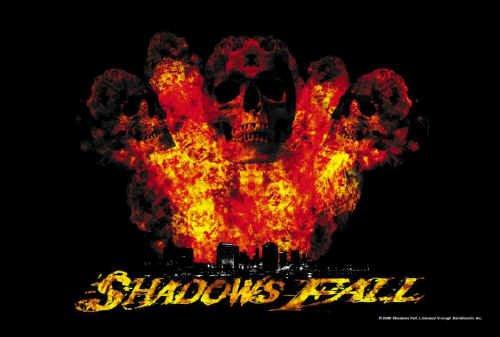 Shadows Fall Poster Flag Dead World Logo Tapestry