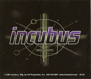 Incubus Vinyl Sticker Make Yourself Logo