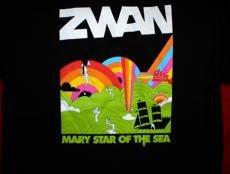 Zwan T-Shirt Mary Star of the Sea Black Size XL