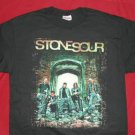 Stone Sour T-Shirt Band Photo Logo Black Medium New