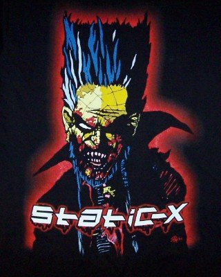 Static-X T-Shirt We're So Cold Black Size Medium