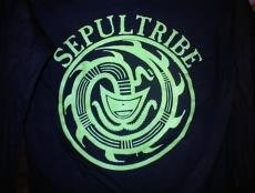 Sepultura Long Sleeve T-Shirt Sepultribe Black Size Medium