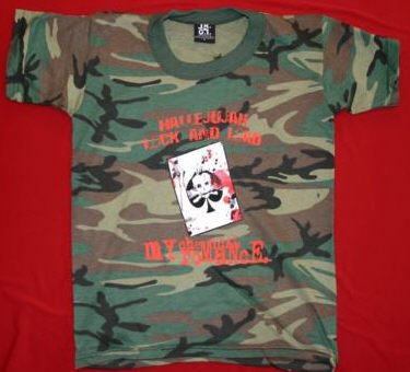 My Chemical Romance T-Shirt Camouflage Size XL