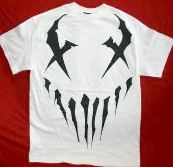 Mushroomhead T-Shirt Face Logo White Size Medium