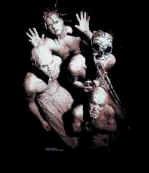 Mudvayne T-Shirt Primal Muddy Group Black Size XL