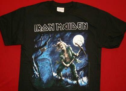 Iron Maiden T-Shirt Benjamin Black Size XXXXL 4XL