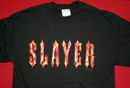 Slayer T-Shirt Eternal Flame Logo Black Size XXL
