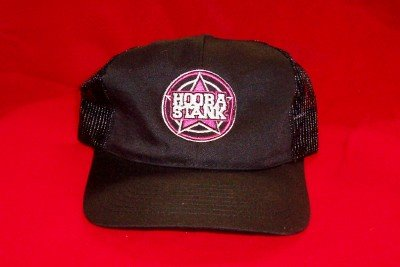 Hoobastank Mesh Trucker Hat Star Logo Black One Size Fits All
