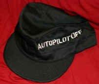 Autopilot Off Combat Hat Black Size Large