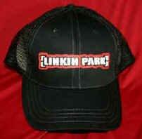 Linkin Park Mesh Trucker Hat Black One Size Fits All