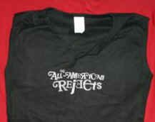 All-American Rejects Babydoll Shirt Black One Size