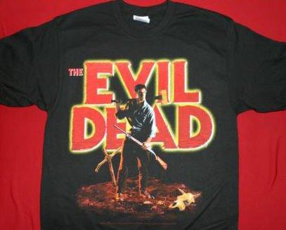 Evil Dead T-Shirt Incantation Black Size Large