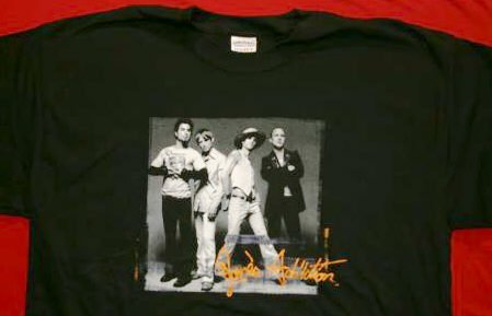 Jane's Addiction T-Shirt Group Photo Black Size Medium