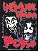 Insane Clown Posse Vinyl Sticker Duo with Dreads