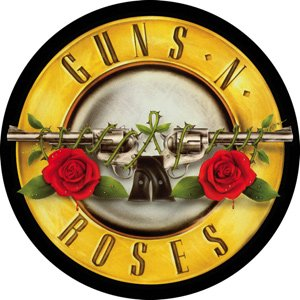 Guns n' Roses Vinyl Sticker Circle Bullet Logo